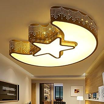 Kreative Sweet Mond Und Sterne Decken Schlafzimmer Romantisch Minimalistisch Wohnzimmer Lampe Led Lampen Fr Jungen Mdchen Kinderzimmer