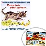 CD Unsre Katz heißt Morle | GRATIS DDR Geschenkkarte | DDR Produkte | Geschenkidee für alle Ostalgiker aus Ostdeutschland | Ossi Produkte