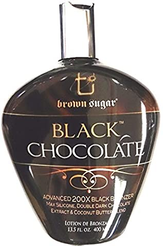 Black Chocolate 200x Black Bronzer Indoor Tanning Bed Lotion By Tan Inc 400ml (13.5 Oz) by TAN