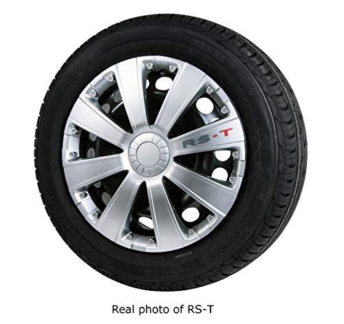 AUTO ZH Copricerchi RS-T, Set di 4 Misure 35,6 cm, 38,1 cm, 40,6 cm