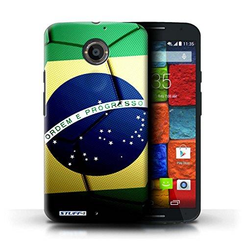 Kobalt® Imprimé Etui / Coque pour Motorola Moto X (2014) / Portugal conception / Série Nations de Football Brésil/Brésilien