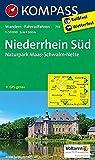 Niederrhein Süd - Naturpark Maas - Schwalm - Nette: Wanderkarte mit Radrouten. GPS-genau. 1:50000: Wandelkaart 1:50 000 (KOMPASS-Wanderkarten, Band 755)