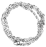 """Best Cousin Chains - Cousin Stainless Steel Elegance Chains, 18"""", Circle Link Review"""