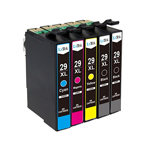 lxtek-compatible-ink-cartridges-replacement-for-epson-29-xl-2-black-1-cyan-1-magenta-1-yellow-for-ep