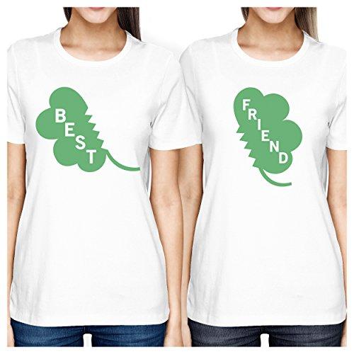 Mejor amigo camisas–corto y Tall mejores amigos Bff Juego camisetas -  -  izquierda- X-Large / derecho- XX-Large