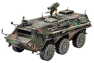 Revell Modellbausatz Panzer 1:35 - TPz 1 Fuchs A4 im Maßstab 1:35, Level 4, originalgetreue Nachbildung mit vielen Details, 03256 von Revell
