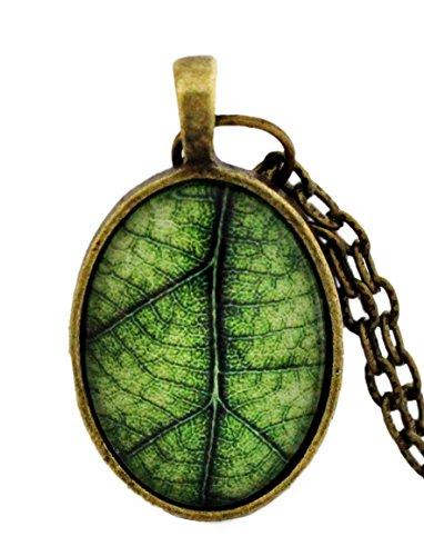 miss-lovie-damen-vintage-blatt-halskette-mit-anhanger-grun-25x18mm-cabochon-bronze