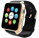 Orologio Smart Bluetooth,STOGA Più Suovo Supporto Smart Card Smart Smart Watch di Sweatproof Smart Phone per smartphone Android Smart e Smartphone per Android e IOS (Oro)