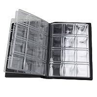 DescrizioneQuesta voce è un album di raccolta portatile moneta, che è molto piccolo e facile da trasportare. Dispone di 10 pagine, 120 tasche per la collezione di monete. È un modo meraviglioso per memorizzare e visualizzare la tua collezione...