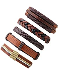 Young & Forever Mothers Day Gifts Mantastic Collection Leather Bracelet For Mens/Women/Boys/Girls