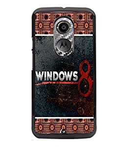 PrintVisa Metal Printed Quotes Designer Back Case Cover for Motorola Moto X (2nd Gen)-D4723