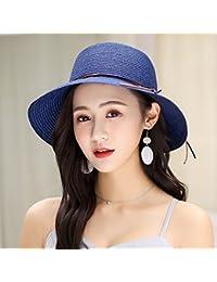 RangYR Sombrero De Mujer Sra. Cap Sombrilla De Verano Sombrero Grande  Simple Casual Sombrero Plegable d33f2774a0f