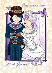 Once Upon a Time - Little Journal: Wedding - 5x7 inches - Notebook with lined pages