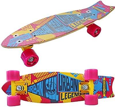 Ultra Mini-board URBAN Cruiser mit ABEC-7 Kugellager 56 cm 7 Schichten Skate-board