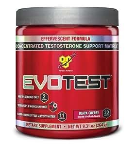 BSN EVOTEST - Black Cherry, 9.41 oz (30 Serving) by BSN Sports