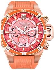 Tecno Sport Chrono reloj Mujer - Rose Gold/Salmon