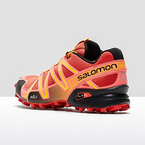 Salomon Damen Speedcross 3 Trail Runnins Sneakers Orange