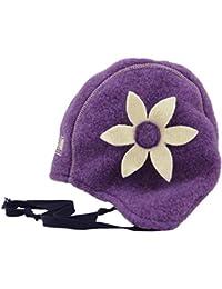 PICKAPOOH Mädchen Mütze Nele aus Bio-Schurwolle