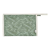 Weird Fish Galvani Patterned Canvas Washbag Peapod Size ONE