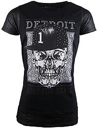 DETROIT - Lost in Style T-Shirt - schwarz