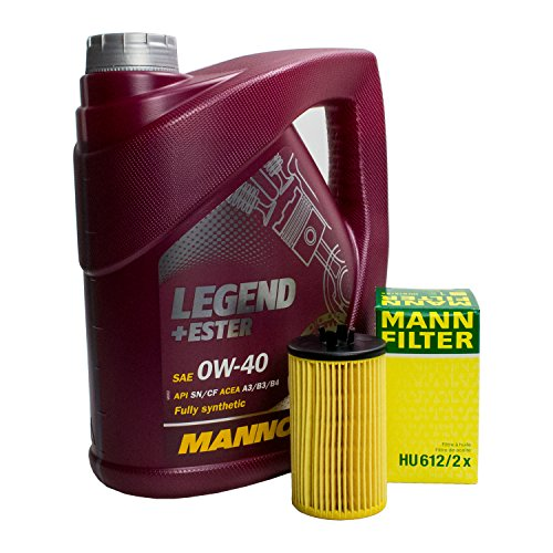 Preisvergleich Produktbild Ölfilter + Motoröl Filterset