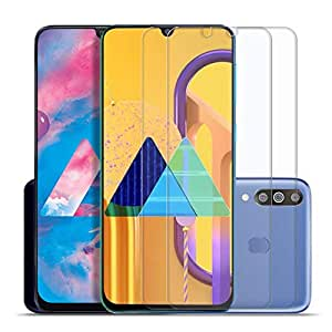 SupCares Premium Tempered Glass for Samsung Galaxy M30S / Samsung Galaxy M30 / A50S / A50 / A30S / A30 with Easy Installation Kit (Transparent) - Pack of 2