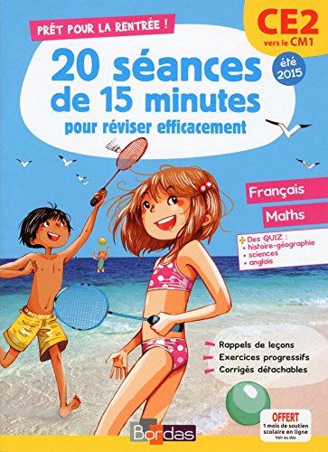 Prêt pour la rentrée ! Cahier de vacances du CE2 vers le CM1 par Emelyne Giraudon