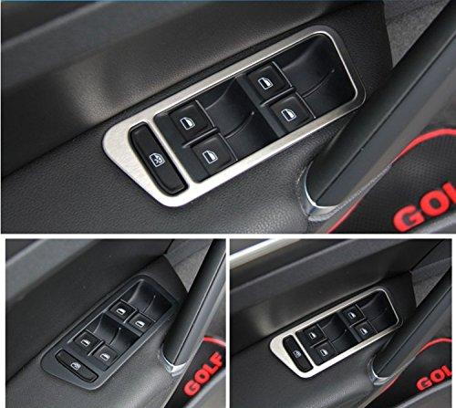 car-interior-door-armrest-window-button-frame-fit-volkswagen-vw-golf-7-2013-2014-stainless-steel