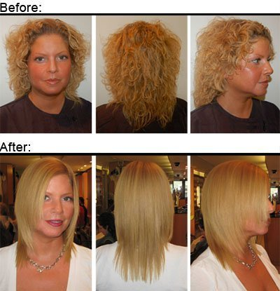 Brazilian Keratin Treatment Home Hair Straightening Kit