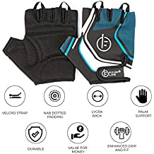 Fitup Life Gym Gloves with Adjustable Strap & Dotted Padding (Imported)