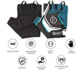 #3: Fitup Life Gym Gloves with Adjustable Velcro Strap & Dotted Padding (Imported)