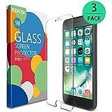 [Lot de 3] Verre Trempé iPhone 7 Plus 6S Plus 6 Plus, Edota Film Protection en Verre trempé écran protecteur ultra résistant Glass Screen Protector pour Apple iPhone 7 Plus 6S Plus 6 Plus