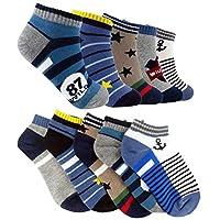 Tiny Captain Boys Ankle Socks Cotton Gift Set Ages 4-6