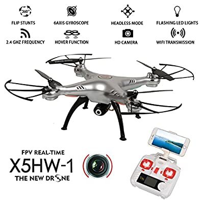 Syma X8SW,Syma X5UW?Syma X5HW-I,Syma X56W Drone Quadcopter by TIME4DEALS.