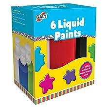 Galt Toys 6 Liquid Paints