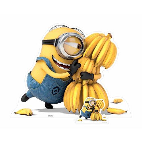 Bebegavroche Figurine en Carton Minion Bananas H 100 cm