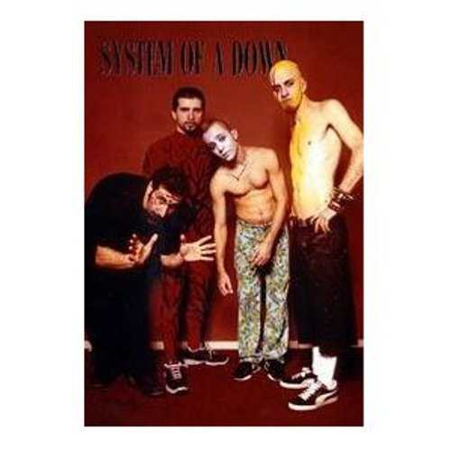 1art1, Poster dei System Of A Down, senza cornice (ohne Rahmen), 91 x 61 cm