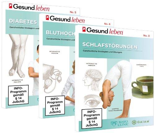 3 DVD Set - Gesundheit: Schlafstörungen - Bluthochdruck - Diabetes -