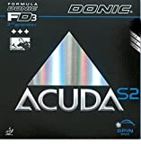 DONIC Head0209 Rubber Blades (Black)