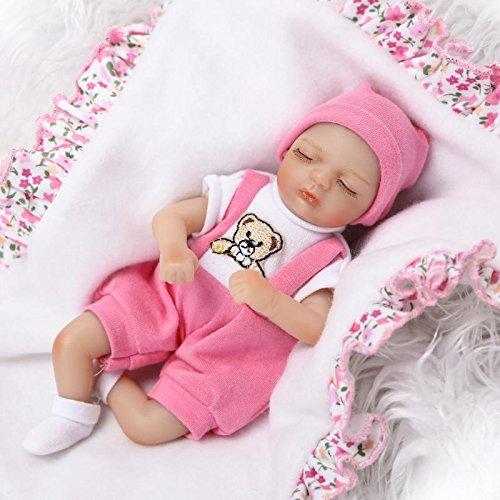 Nicery Reborn - Muñeca bebé simulación suave silicona