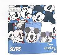 Mickey Mouse Disney Calzoncillos Tipo Slips de Algodón - Slips Disney Mickey Mouse para Niños
