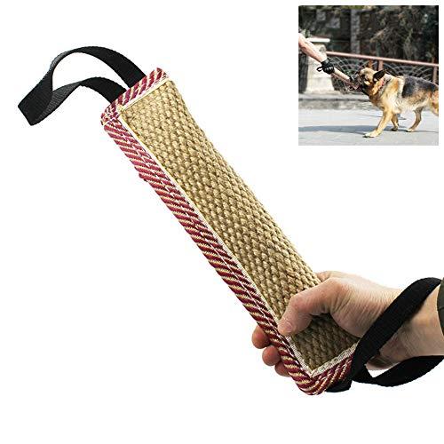 Kylewo Hundespielzeug Unzerstörbar, Hundespielzeug Hundebiss Schlepper Spielzeug Durable Hund Biss Stick Baumwolle Leinen Hundetraining Spielzeug für Hunde Training Ausbildung Erziehung