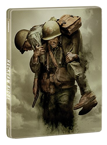 Hacksaw Ridge Limited Edition Steelbook / Import / Blu Ray