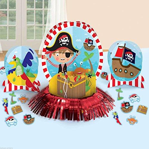 Amscan 281622Little Pirat Tisch Dekorieren Kits