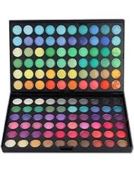 FantasyDay® 120 Colores Sombra De Ojos Paleta de Maquillaje Cosmética #1 - Perfecto para Sso Profesional y Diario