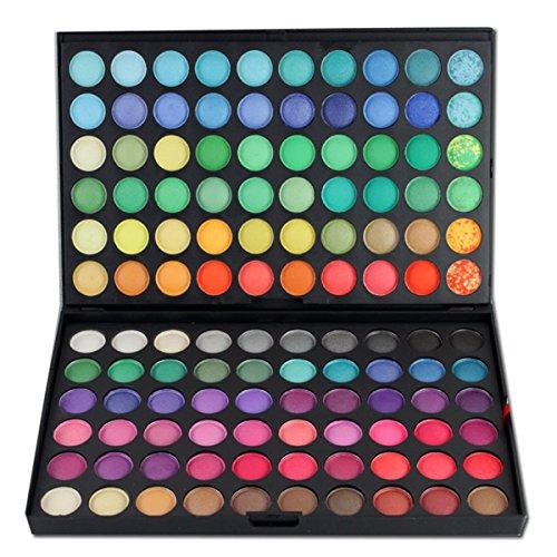 Palette de Fard à paupières, FantasyDay 120 Couleurs Professionnelle Shimmer Matte Ultra Pigmenté Bases de Ombre à paupières Maquillage Palette Cosmétique Set - Eyeshadow Makeup Beauty Kit #1