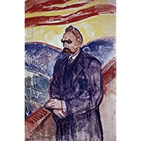 Friedrich W. Nietzsche /N(1844-1900). German Philosopher And Poet. Oil On Canvas 1906-07 By Edvard Munch. Artistica di Stampa (45,72 x 60,96 cm)