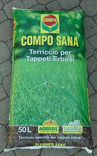 Compo Sana - Sustrato para césped - Bolsa de 50litros