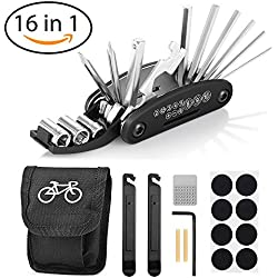 Migimi 16 en 1 Multifunción para Bicicletas, Herramientas para Bicicletas Ciclismo Herramientas, Kit de Herramientas para Bicicletas