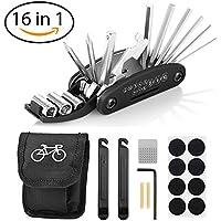 Migimi 16 en 1 Multifunción para Bicicletas, Herramientas para Bicicletas Ciclismo Herramientas, Kit de